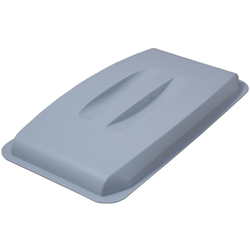 LID  60L Grey Plastic to bin 60L rectangular {Conforms with: EU 1935/2004, EU 2023/2006, EU 10/2011}