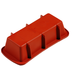 SILICONE BAKING MOULD PAN SQUARE 240x105x65mm 1,38L