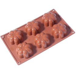 SILICONE BAKING MOULD PAN GN1/3 CHARLOTTE 110ml (6x ø78x36mm)