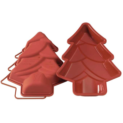 SILICONE BAKING MOULD PAN FIR TREE 280x200x40mm   {Conforms with: EU 1935/2004, EU 2023/2006}