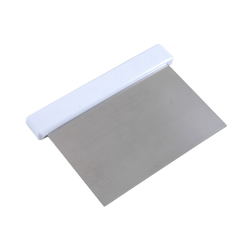 SCRAPER 130mm Stainless steel Plastic handle