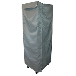 RACK DUST COVER 40x60 1670mm Beaver nylon Grey Door with Velcro locking {Conforms with: EU 1935/2004, EU 2023/2006}