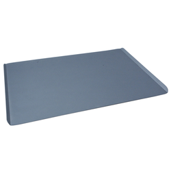 PLAIN BAKING TRAY SHEET PAN 45x60 Aluminium 1,4mm Nonstick Silicone resin coated RilonHard Grey Short sides 14mm/45° {Conforms with: EU 1935/2004, EU 2023/2006, EN AW-3003}
