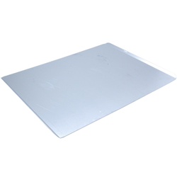 PLAIN BAKING TRAY SHEET PAN 46x61 Aluminium 2,0mm Short sides 14mm/45° {Conforms with: EU 1935/2004, EU 2023/2006, EN AW-3003}