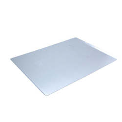 PLAIN BAKING TRAY SHEET PAN 47x63 Aluminium 2,0mm Short sides 13mm/45° {Conforms with: EU 1935/2004, EU 2023/2006, EN AW-3003}