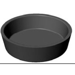 BAKING PLATE Pavoni Cookmatic ROUND 16x ø68x18mm Aluminium Nonstick Fluoroplastic coated for Pastry Savoury Tart {Conforms with: EU 1935/2004, EU 2023/2006 - Warning: PFAS}