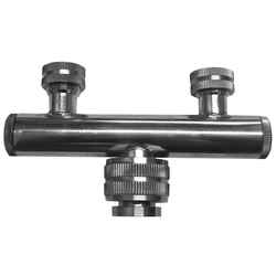 SPOUT ADAPTER FOR DOUBLE SPOUT for Pavoni Dosiplus