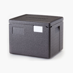 THERMO CONTAINER & LID GN1/2 22,3L EPP-plastic Internal 330x270x253mm External 390x330x316mm {Conforms with: EU 1935/2004, EU 2023/2006, EU 10/2011}