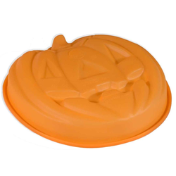 SILICONE BAKING MOULD PAN HALLOWEEN PUMPKIN ø260mm {Conforms with: EU 1935/2004, EU 2023/2006}