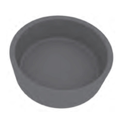 BAKING PLATE Pavoni Cookmatic ROUND 20x ø60x20mm Aluminium Nonstick Fluoroplastic coated for Pastry Savoury Tart {Conforms with: EU 1935/2004, EU 2023/2006 - Warning: PFAS}