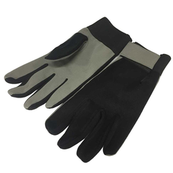 GLOVES WORK GLOVES Synthetic leather Top of fabric Velcro locking