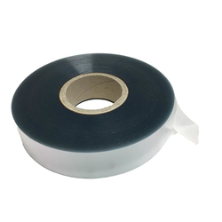 PLASTIC RIBBON 40mm Soft 90µm 305m/roll For mousse-, truffles-, ice cream- & chocolate manufacturing