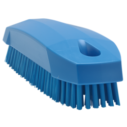 BRUSH 130x50mm Stiff BLUE Vikan For cleaning proofing basket banneton