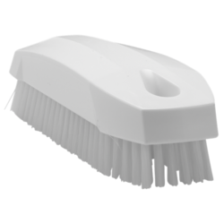 BRUSH 130x50mm Stiff WHITE Vikan For cleaning proofing basket banneton