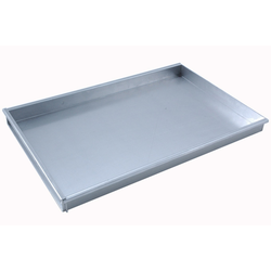 BAKING TRAY SHEET PAN 40x60 400x600x40mm Aluminium 1,4mm Removable short side