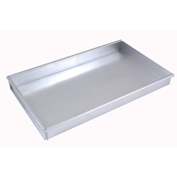 BAKING TRAY SHEET PAN 45x30 450x300x50mm Aluminium 1,4mm Removable short side