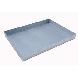 BAKING TRAY SHEET PAN 47x63 470x630x60mm Aluminium 1,4mm Nonstick Silicone resin coated RilonHard Grey