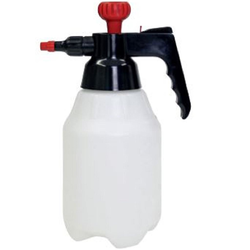COMPRESSED AIR SPRAYER 'SPRAY BOTTLE' 1,8L Food graded Plastic {Conforms with: EU 1935/2004, EU 2023/2006, EU 10/2011}