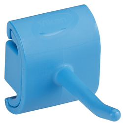 WALL BRACKET HOOK 78x41x48mm (BxLxH) Module for 1 product BLUE Vikan Plastic {Conforms with: EU 1935/2004, EU 2023/2006, EU 10/2011}