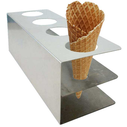 CONE STAND for 4 cones Stainless steel