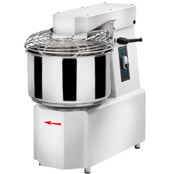 MIXER SPIRAL MIXER  17kg 20L GAM TSV20 3 speed 1 timer 1~230VAC 50Hz 0,75/1,5kW Liftable head Removable bowl