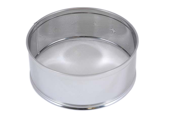 SIFTER 0,5mm ø240mm Stainless steel {Conforms with: EU 1935/2004, EU 2023/2006}