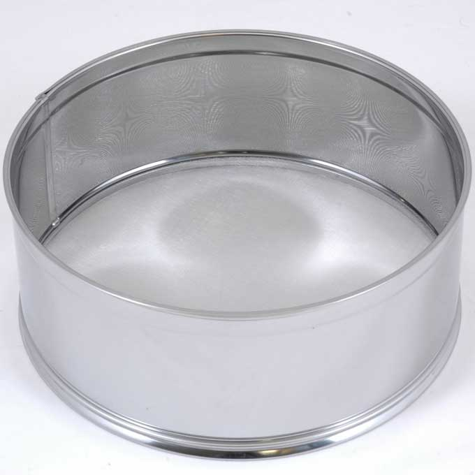 SIFTER 0,5mm ø300mm Stainless steel {Conforms with: EU 1935/2004, EU 2023/2006}