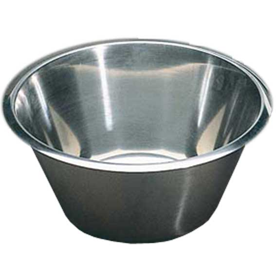 BOWL  3L Stainless steel ø220x120mm {Conforms with: EU 1935/2004, EU 2023/2006}